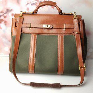 Vintage RARE Asprey & Garrad London Weekender Bag